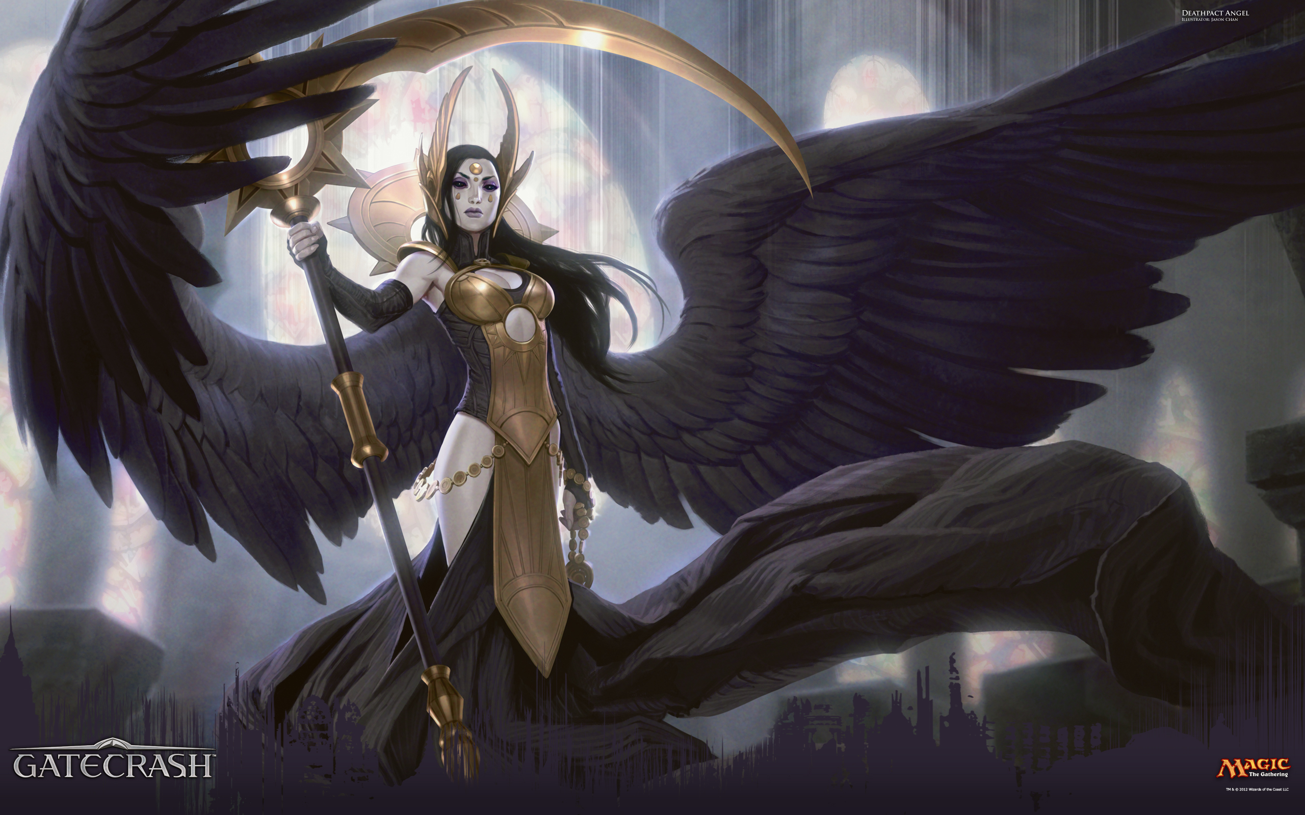 Wallpaper of the Week: Deathpact Angel