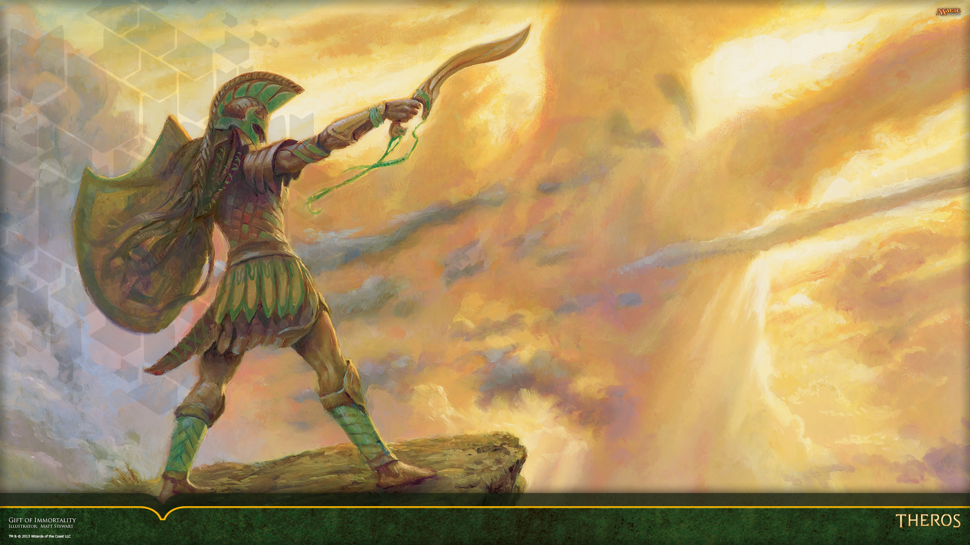 Wallpaper of the Week Gift of Immortality MAGIC THE GATHERING