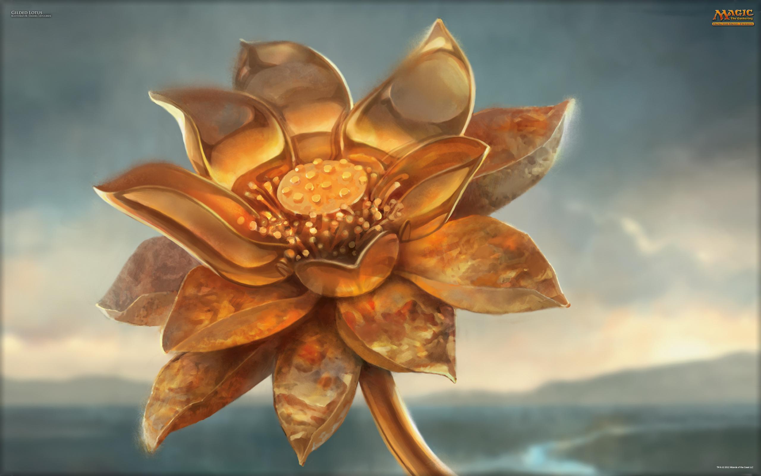 Wallpaper Of The Week Gilded Lotus Magic The Gathering