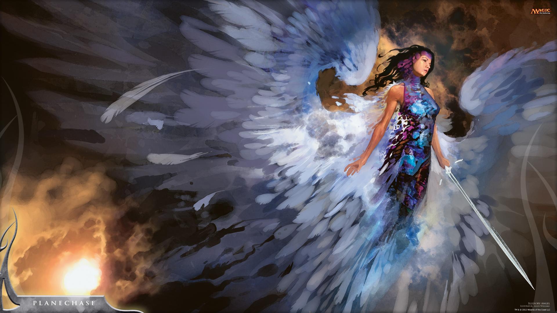 Artwork Fantasy Art Angel Wallpapers Hd Desktop And: Wallpaper Of The Week: Illusory Angel