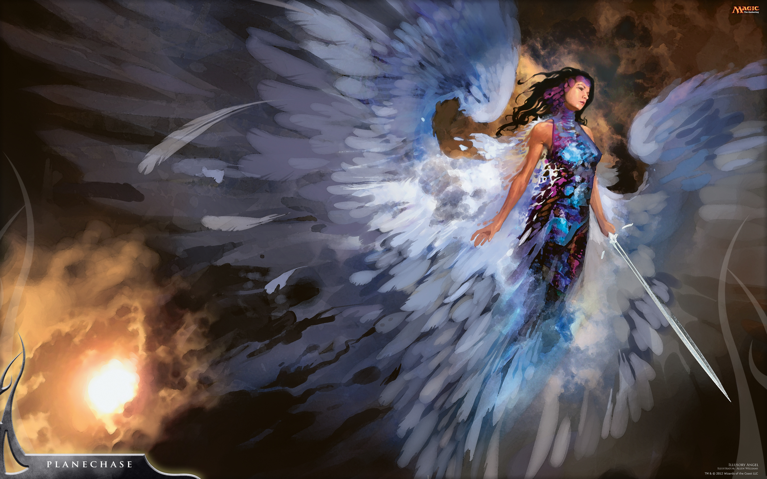 Wallpaper of the Week: Illusory Angel | MAGIC: THE GATHERING