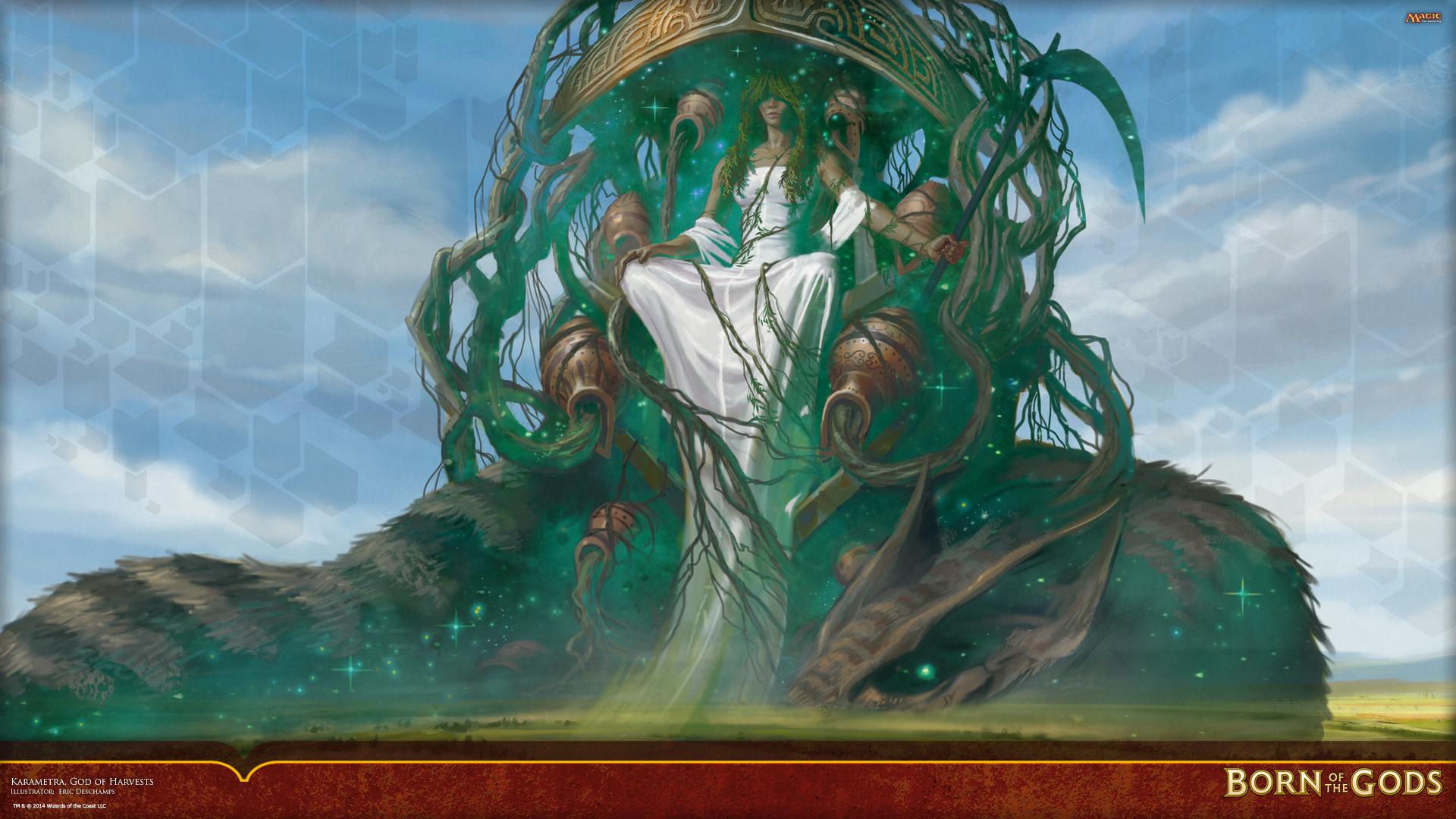 Wallpaper of the week karametra god of harvests magic - Magic wallpaper ...