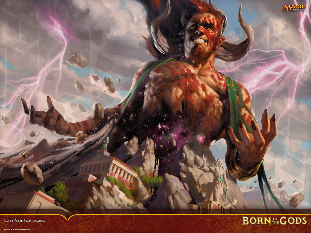 Wallpaper Of The Week Born Of The Gods Key Art Magic The Gathering