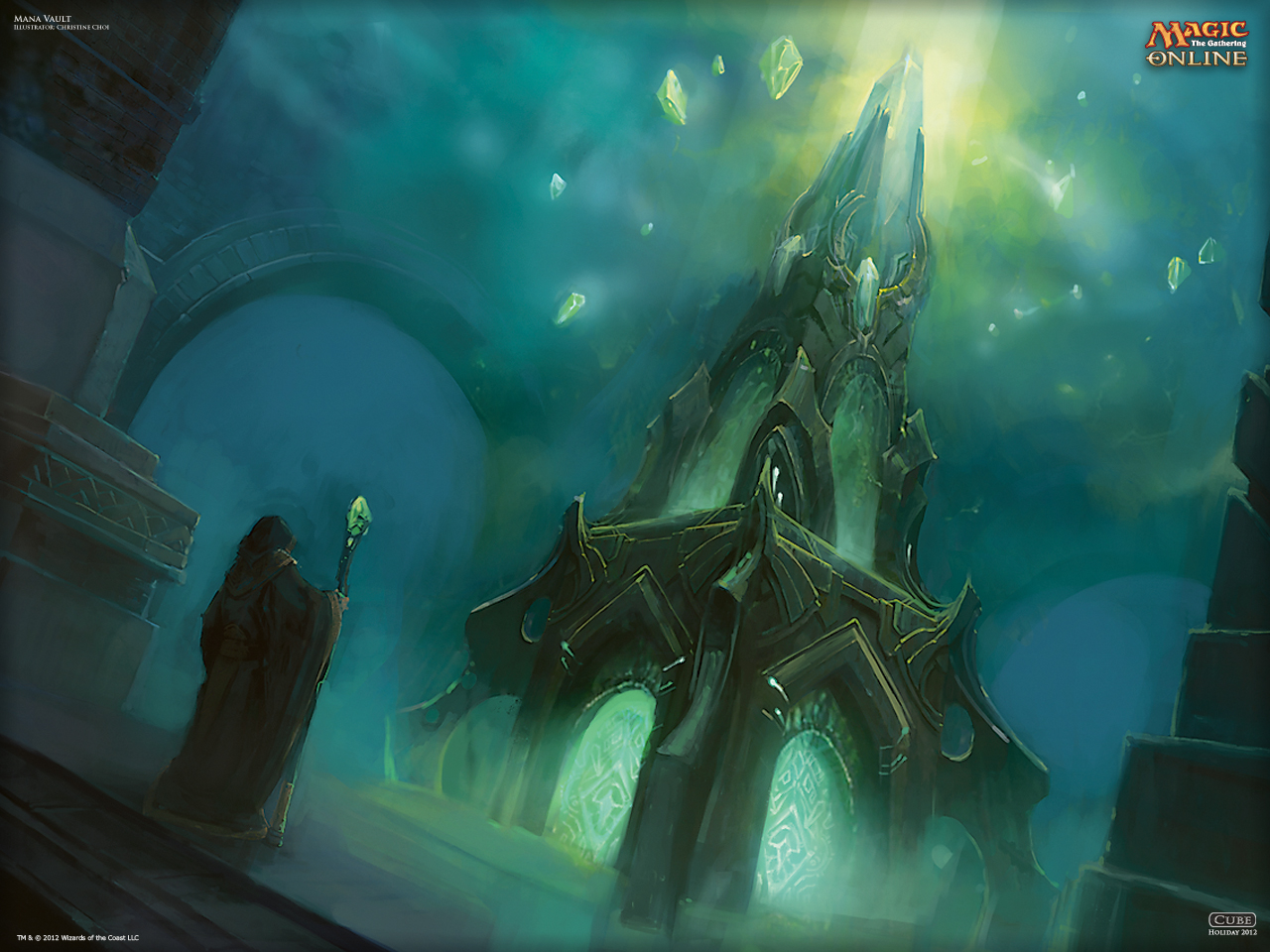 Wallpaper Of The Day Mana Vault Magic The Gathering