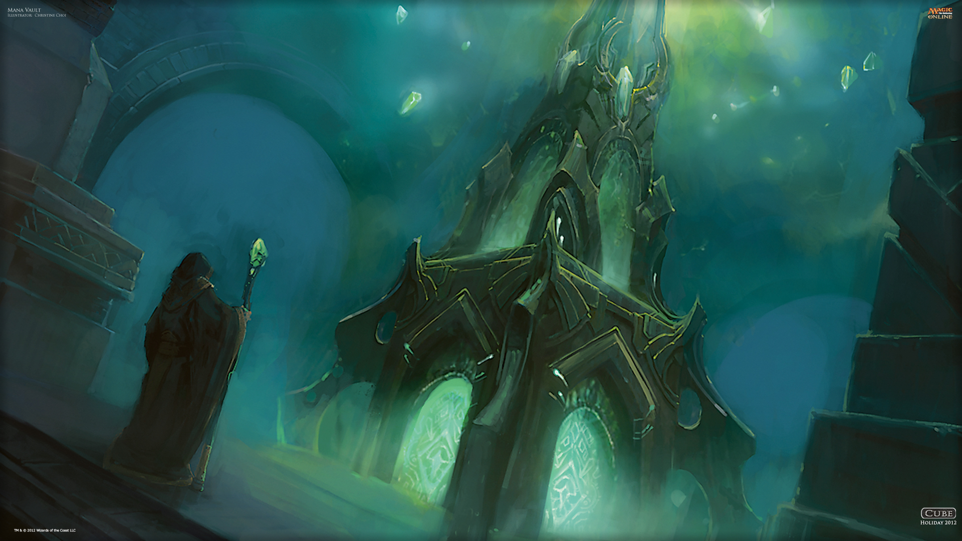 Wallpaper Of The Day: Mana Vault