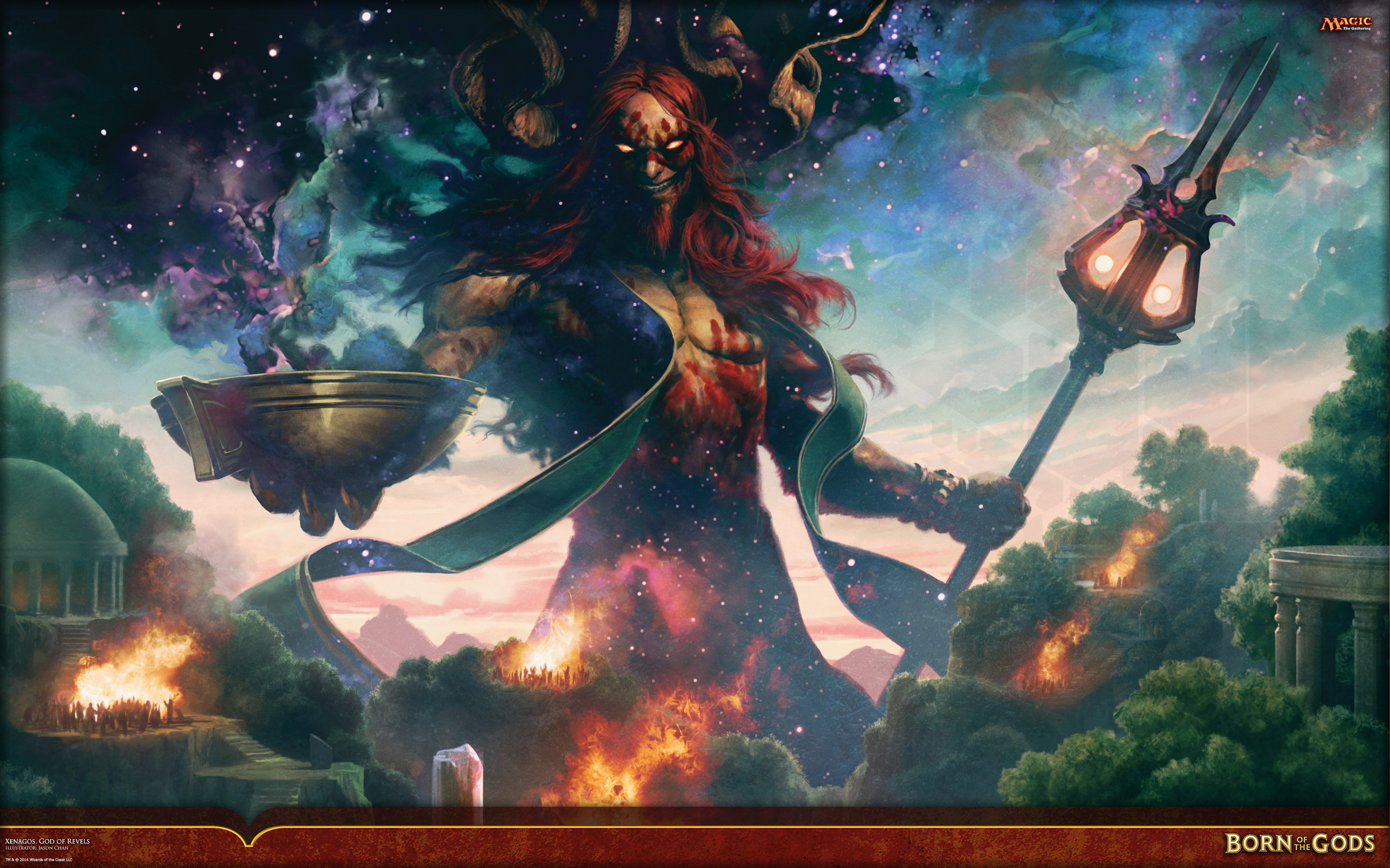 Wallpaper of the Week: Xenagos, God of Revels