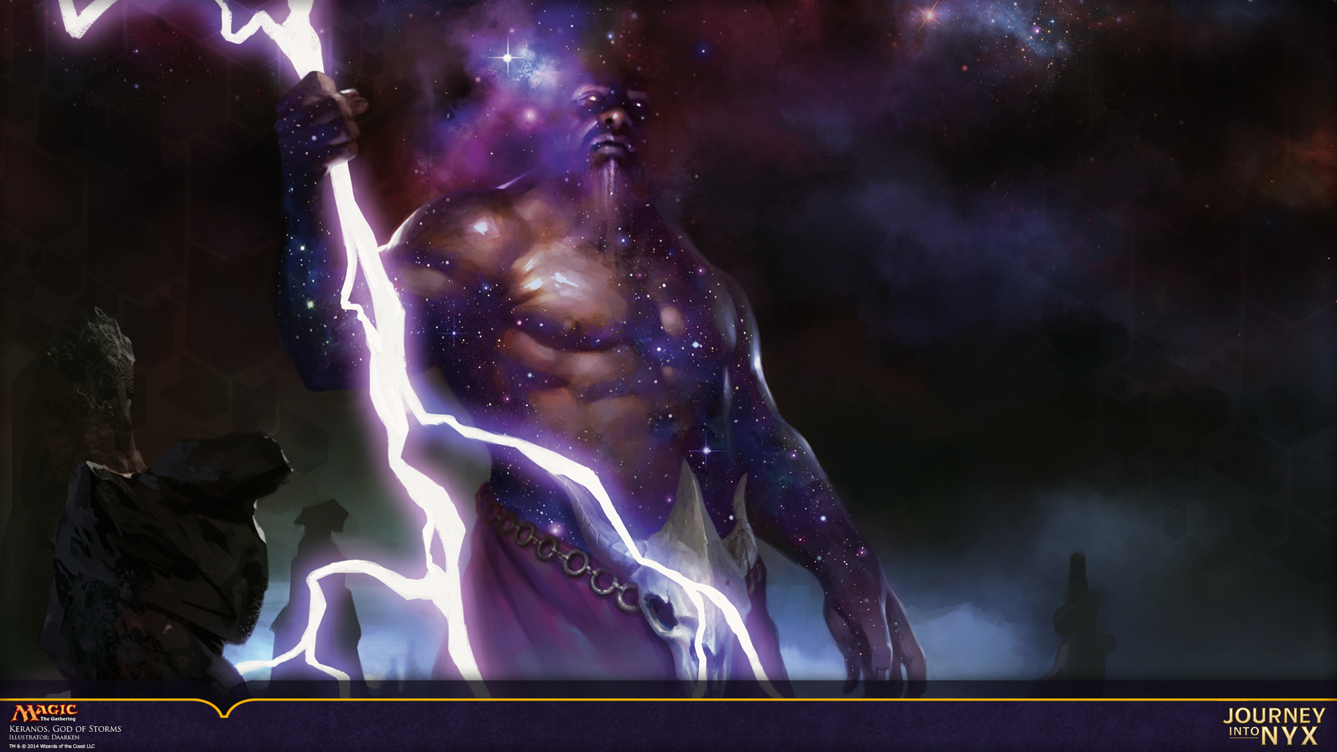Wallpaper of the week keranos god of storms daily mtg - Magic wallpaper ...