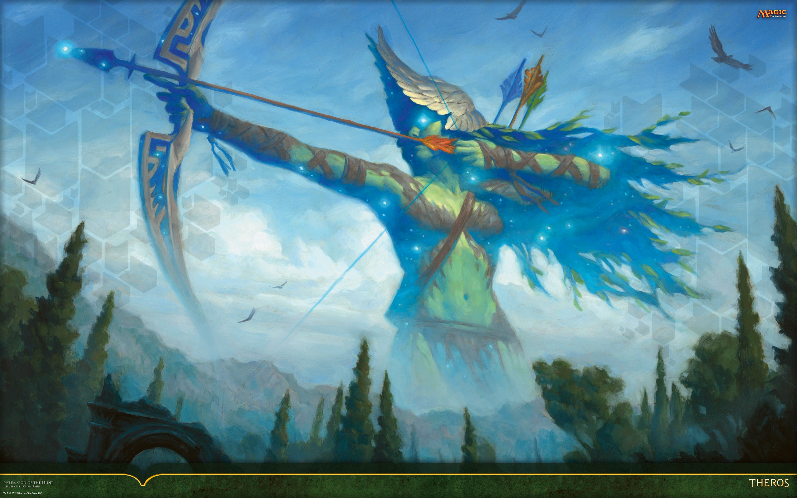 Wallpaper of the week nylea god of the hunt magic the gathering wallpaper of the week nylea god of the hunt voltagebd Images