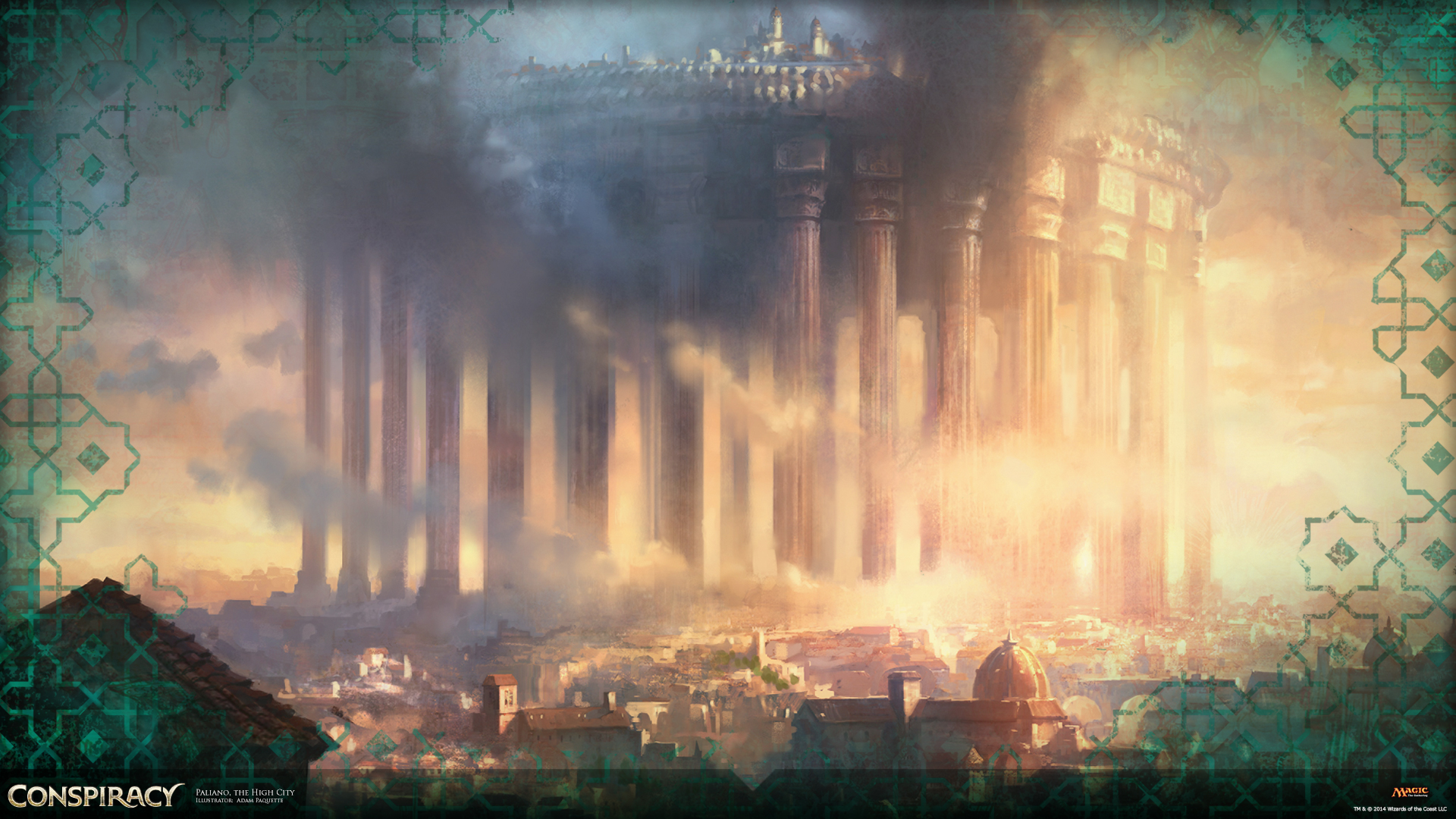 Wallpaper of the Week:Paliano, the High City   MAGIC: THE ... Planeswalker Art
