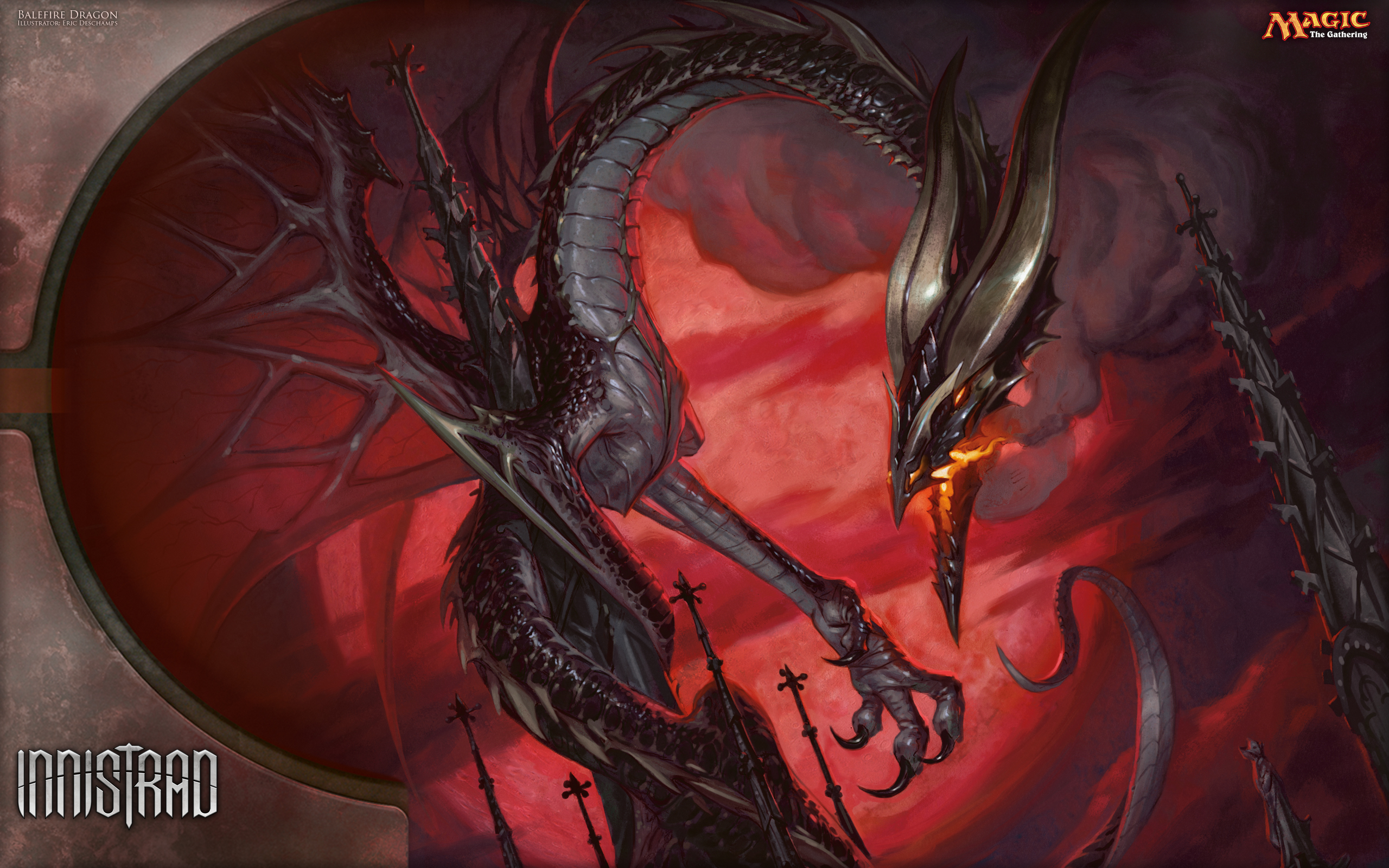 Wallpaper Of The Week Balefire Dragon Magic The Gathering
