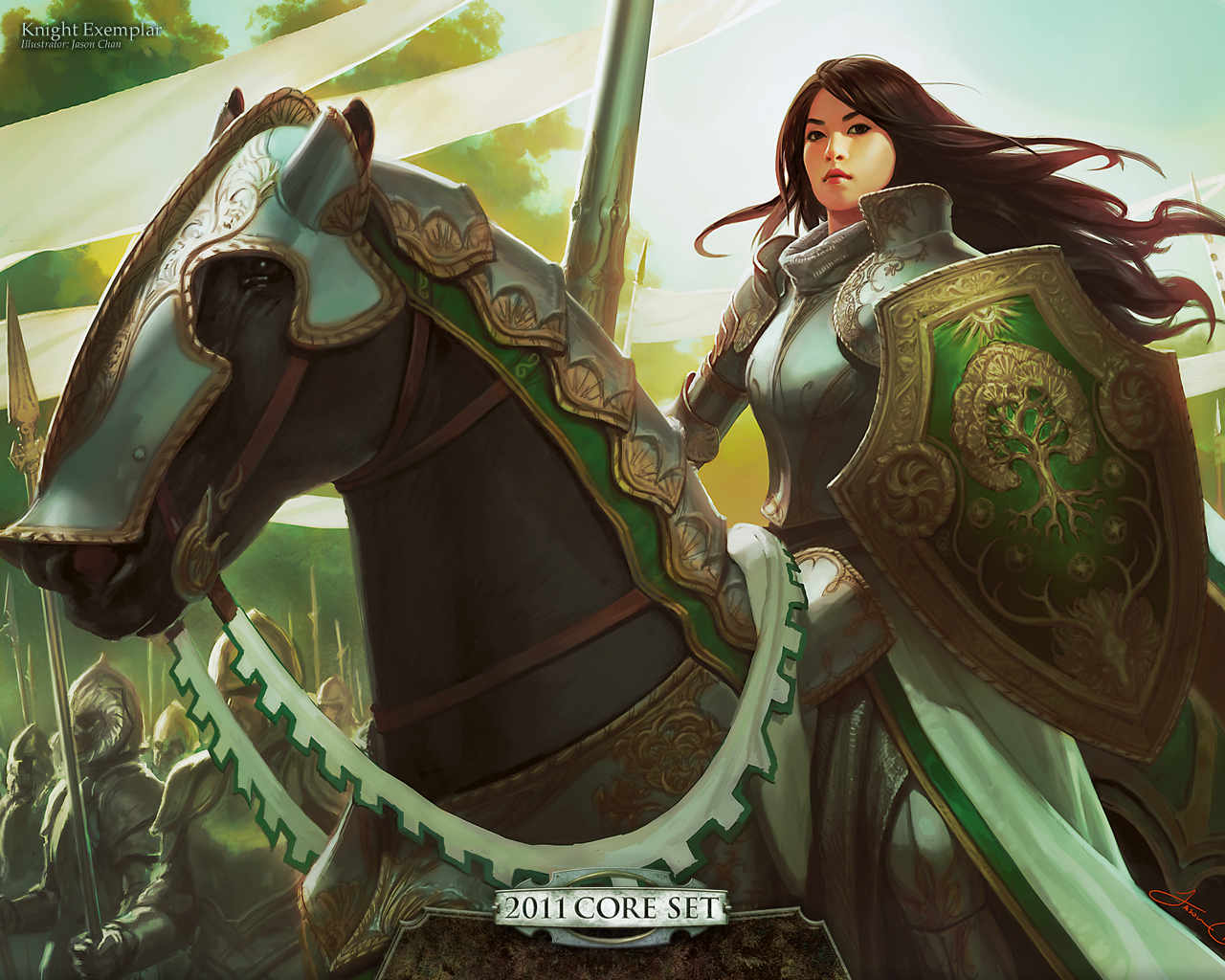 Wallpaper Of The Week Knight Exemplar Magic The Gathering