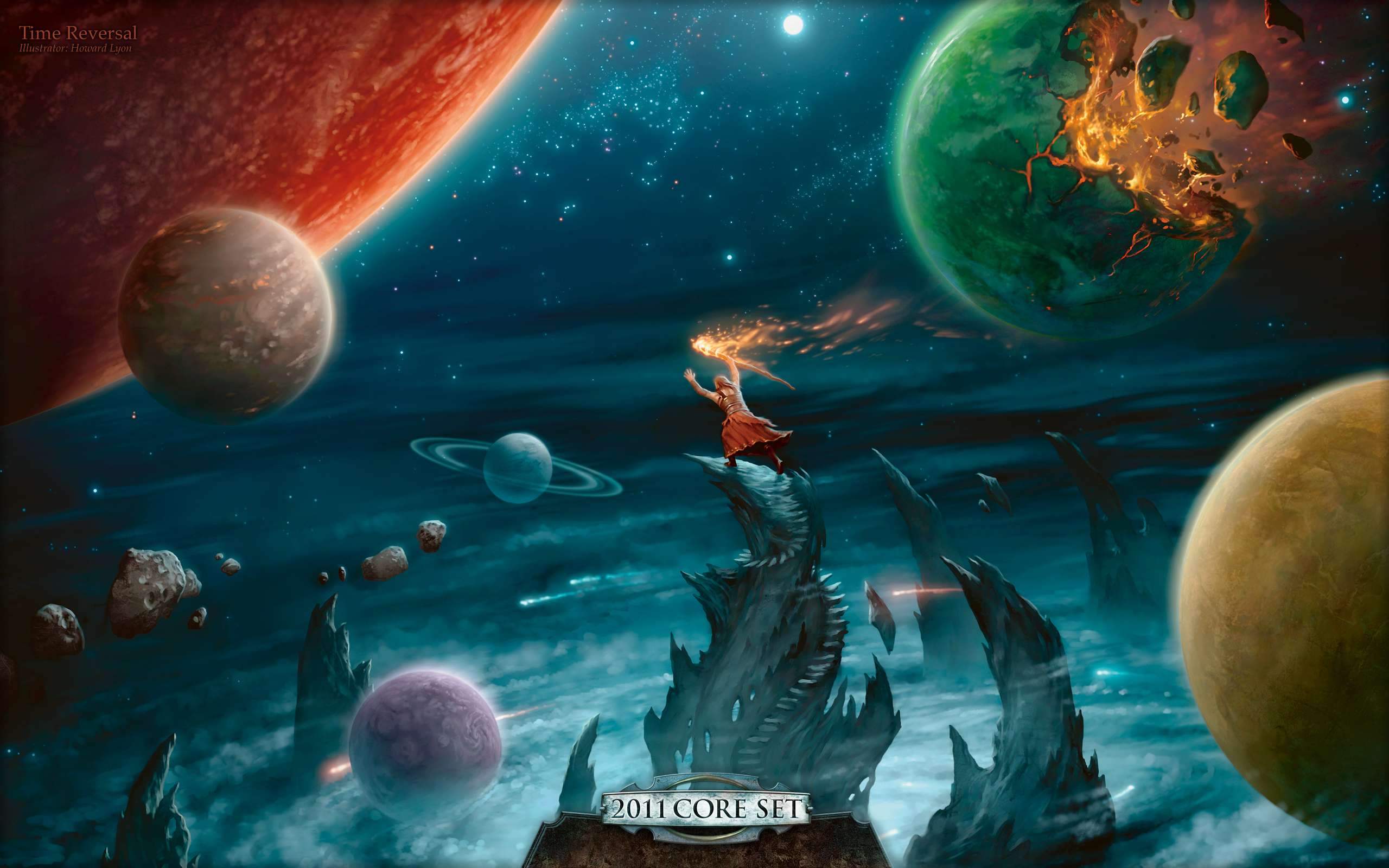 Wallpaper Of The Week Time Reversal Magic The Gathering