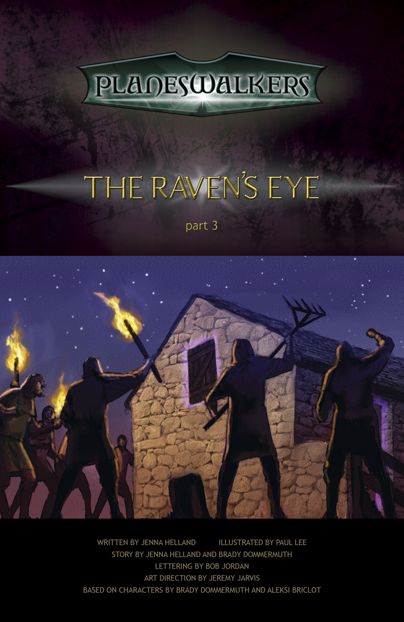 The Raven's Eye, Part 3: Title Page