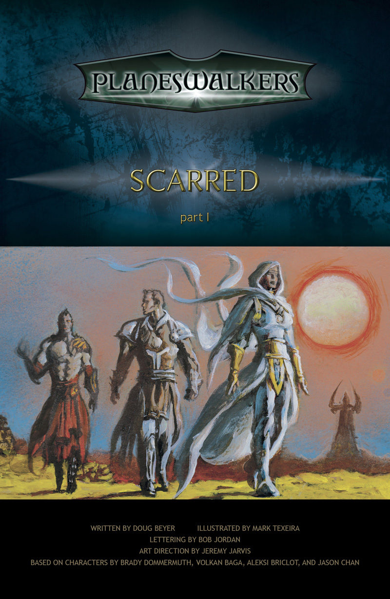 Scarred, Part 1: Title Page