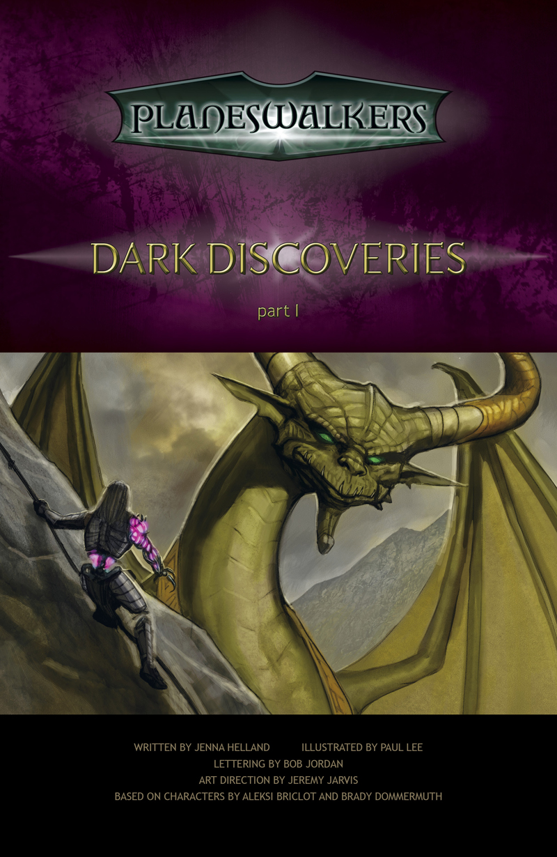 Dark Discoveries, Part 1: Title Page