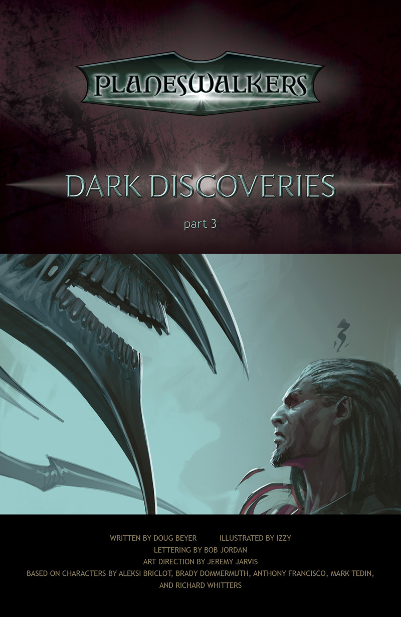 Dark Discoveries, Part 3: Title Page