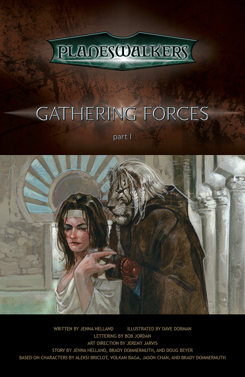 Gathering Forces, Part 1: Title Page