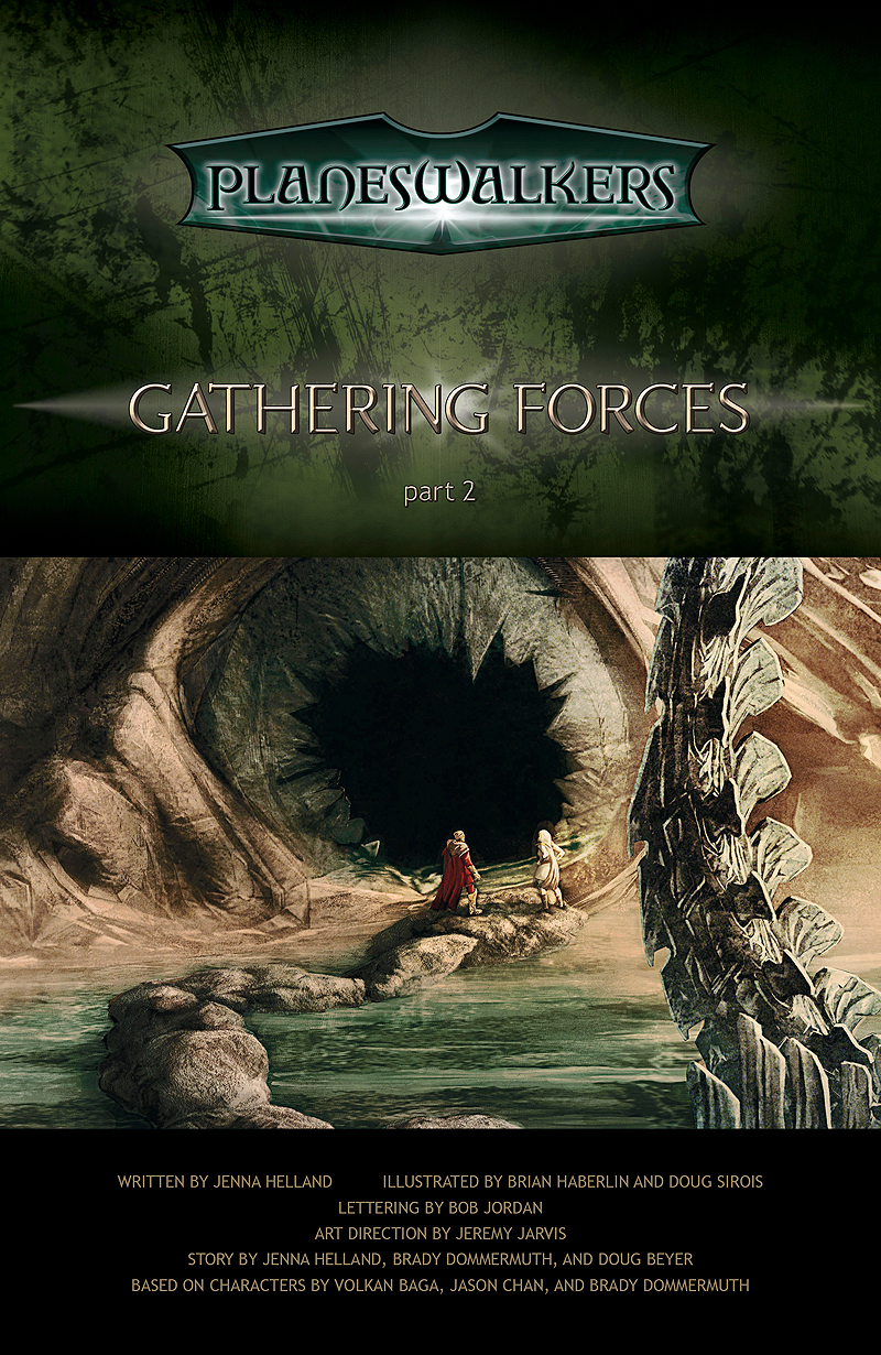Gathering Forces, Part 2: Title Page