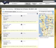 Store & Event Locator