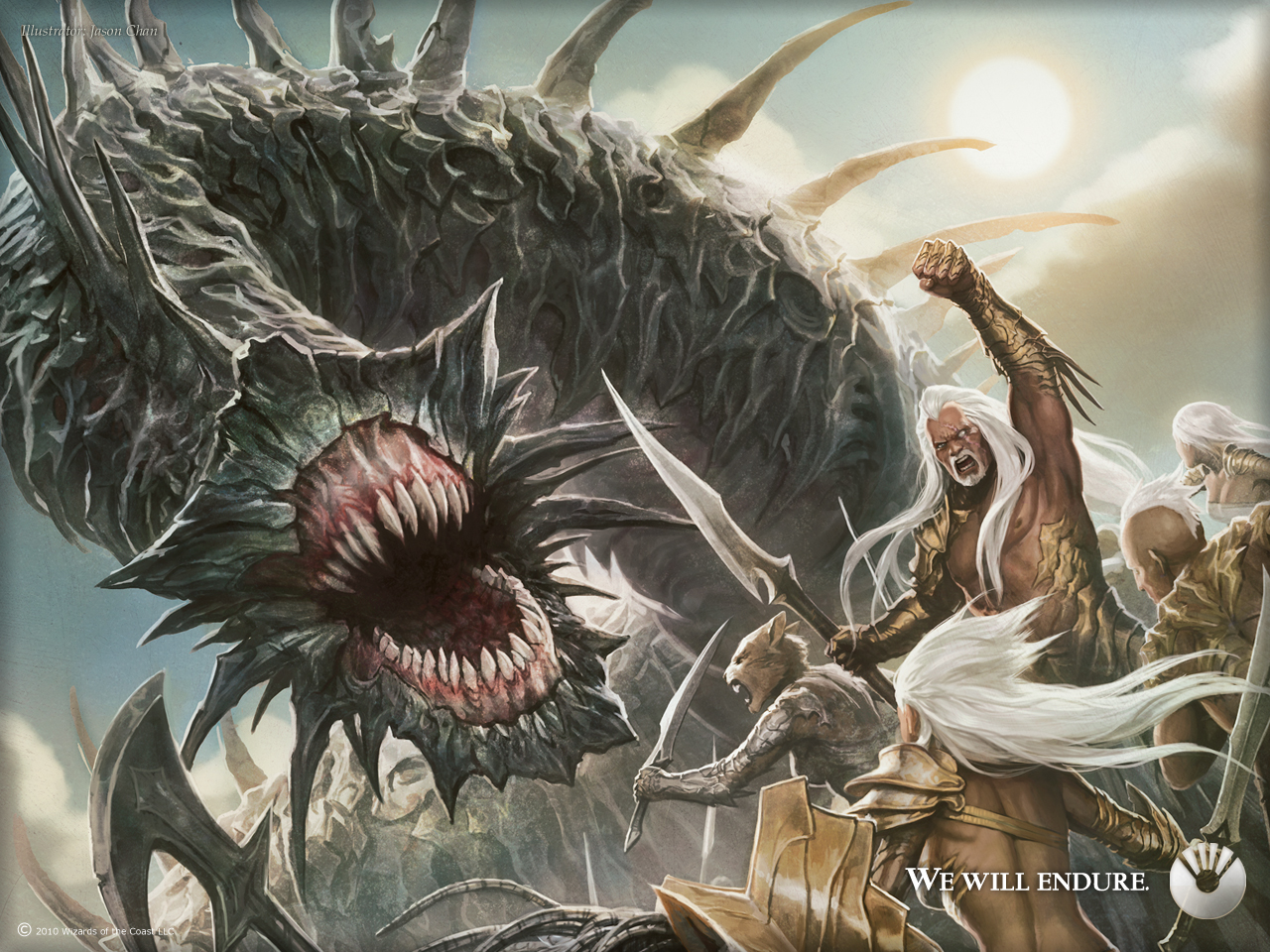 Scars of mirrodin wallpapers magic the gathering - Magic wallpaper ...