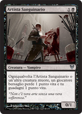 Artista Sanguinario - Blood Artist