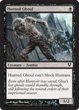Hunted Ghoul