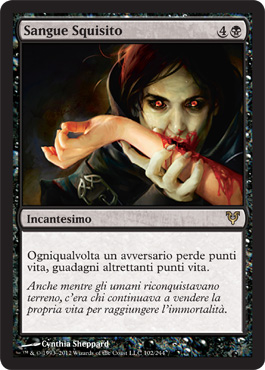 Sangue Squisito - Exquisite Blood