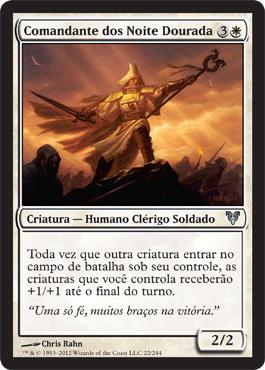 Comandante dos Noite Dourada