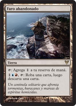 Faro abandonado