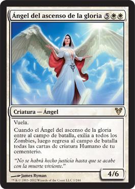 Ángel del ascenso de la gloria