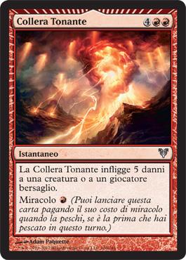 Collera Tonante - Thunderous Wrath
