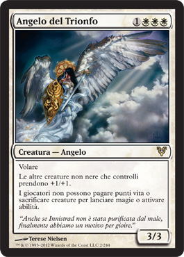 Angelo del Trionfo - Angel of Jubilation