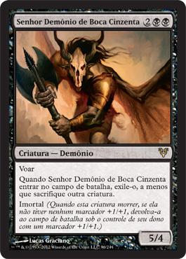 Senhor Demônio de Boca Cinzenta