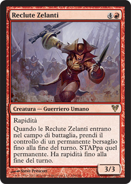 Reclute Zelanti - Zealous Conscripts