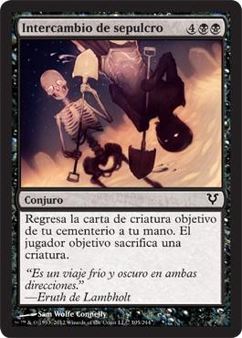 Intercambio de sepulcro