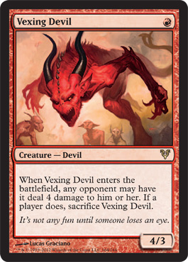 Vexing Devil