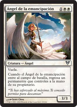 Ángel de la emancipación