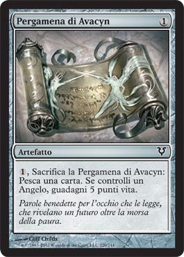 Pergamena di Avacyn
