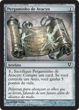 Pergaminho de Avacyn