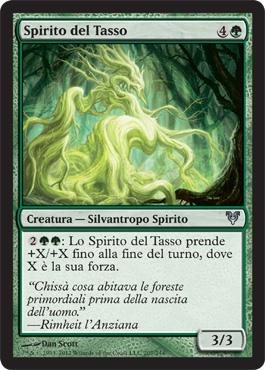 Spirito del Tasso - Yew Spirit