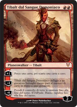 Tibalt dal Sangue Demoniaco - Tibalt, the Fiend-Blooded