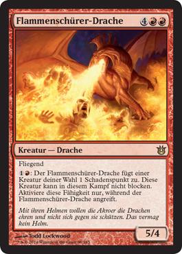 Flammenschürer-Drache