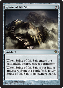 Spine of Ish Sah