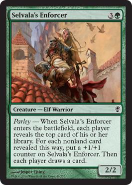 Selvala's Enforcer