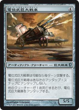 電位式巨大戦車