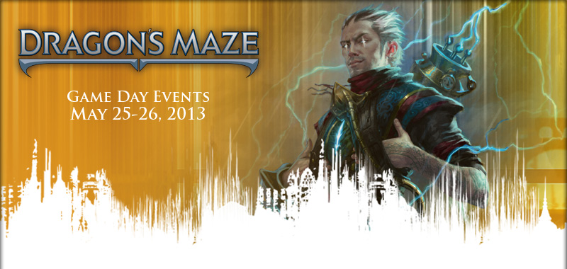 EN DGM InsideHeader Game Dragons Maze Game Day Tournaments   Saturday, May 25th at all 3 AU Stores