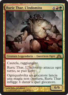 Ruric Thar, L'Indomito