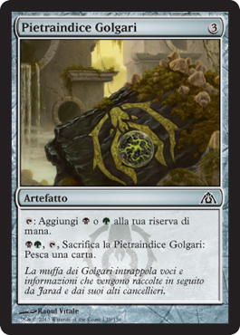 Pietraindice Golgari