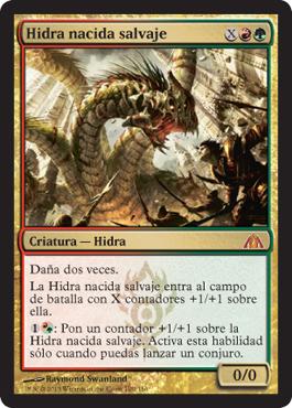 Hidra nacida salvaje