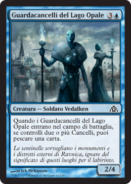 Guardacancelli del Lago Opale / Opal Lake Gatekeepers